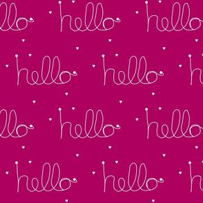 hello haute pink