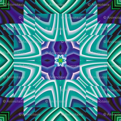 Flowery Incan Tiles 16