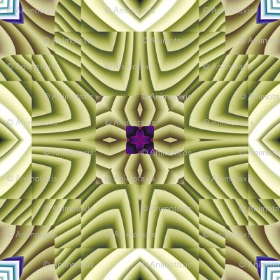 Flowery Incan Tiles 19