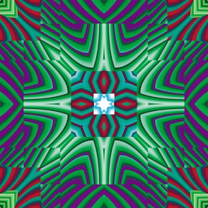 Flowery Incan Tiles 20
