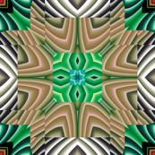 Flowery Incan Tiles 22