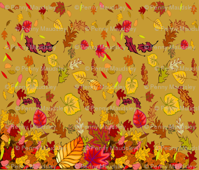 FALL TABLECLOTH