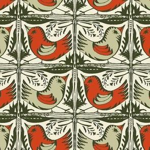 Beady Eyed Bird (Nutmeg & Paprika)