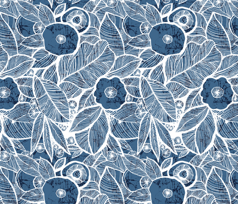 Eyes of the jungles fabric by chulabird on Spoonflower - custom fabric