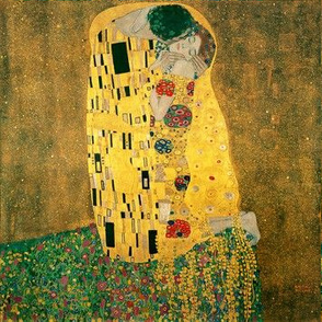The Kiss (Gustav Klimt, 1908)