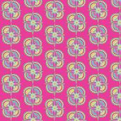 pointy flower pink
