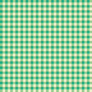 green yellow gingham