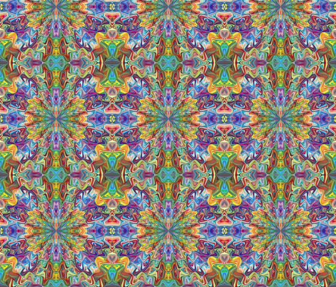 Arabesque inspirations fabric by aalaro-art on Spoonflower - custom fabric