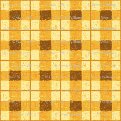 pumpkin rough plaid