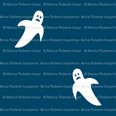 Cute Scary Ghosts