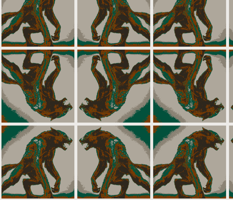 werewolf fabric by ju-ju_swagger on Spoonflower - custom fabric