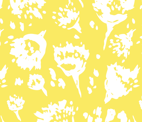 Modage Floral fabric by alicia_vance on Spoonflower - custom fabric