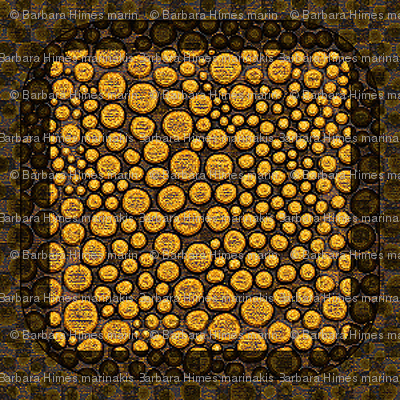 Dot Crowd: Boxed - Gold and Brown