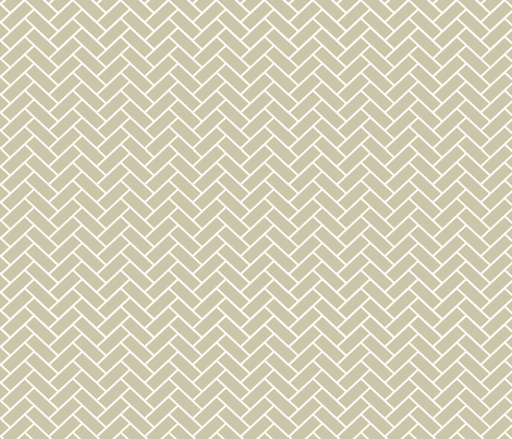 Natural Herringbone fabric by designedtoat on Spoonflower - custom fabric