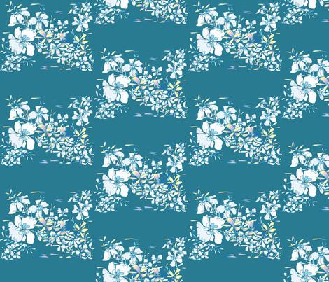 flowing_ designer lydia falletti  fabric by artsylady on Spoonflower - custom fabric