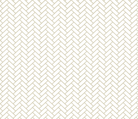 Natural Herringbone ii fabric by designedtoat on Spoonflower - custom fabric