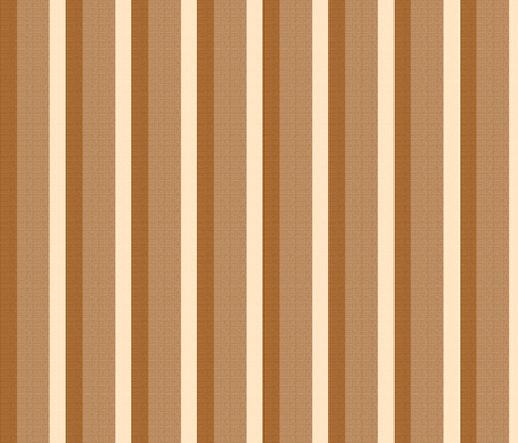 brown stripes fabric by mojiarts on Spoonflower - custom fabric