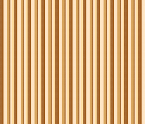 brown stripes 4 fabric by mojiarts on Spoonflower - custom fabric