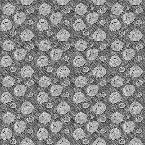 "Sketchydots: ""Big"" Dot Coordinate - Grey fabric by tallulahdahling on Spoonflower - custom fabric"