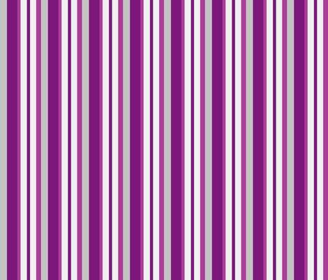 purple grey stripes fabric by mojiarts on Spoonflower - custom fabric