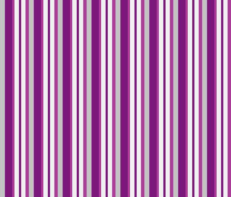 purple grey stripes fabric by mojiarts on Spoonflower - custom fabric