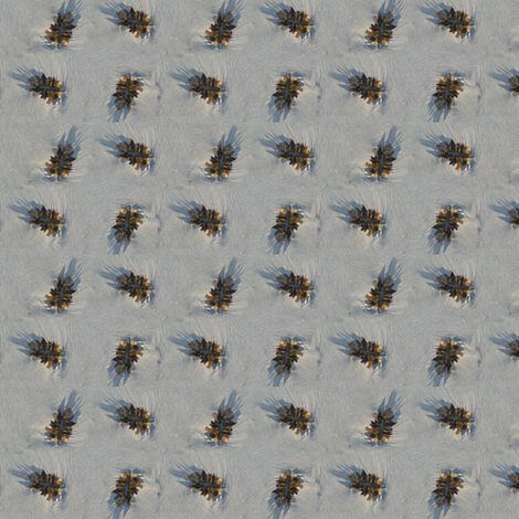 Seaweed on sand fabric by bargello_stripes on Spoonflower - custom fabric