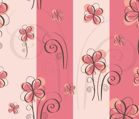 Whimsical_Flowers fabric by venia on Spoonflower - custom fabric