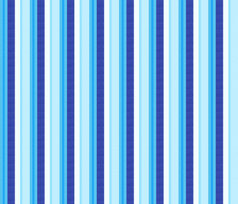 blue world stripes 6 fabric by mojiarts on Spoonflower - custom fabric