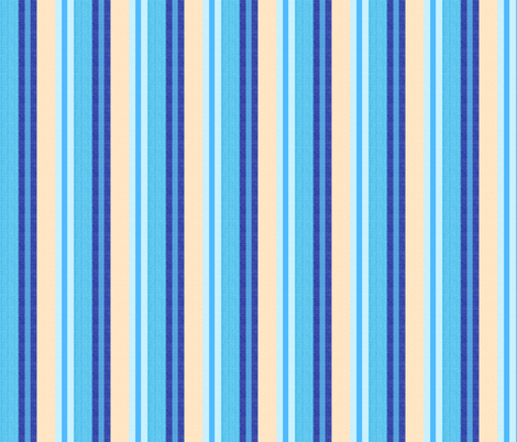 blue world stripes 7 fabric by mojiarts on Spoonflower - custom fabric
