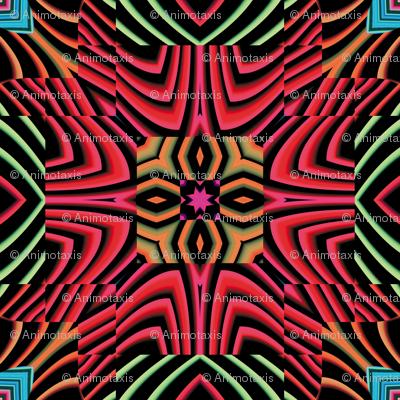 Flowery Incan Tiles 28