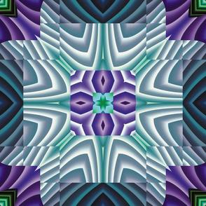 Flowery Incan Tiles 30