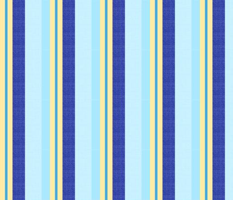 blue world stripes 14 fabric by mojiarts on Spoonflower - custom fabric