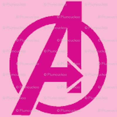 Avengers - pink