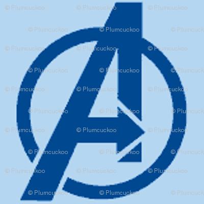 Avengers - blue