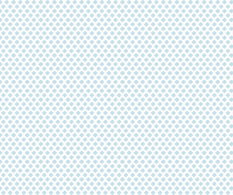 Clover in Blue fabric by honey&fitz on Spoonflower - custom fabric