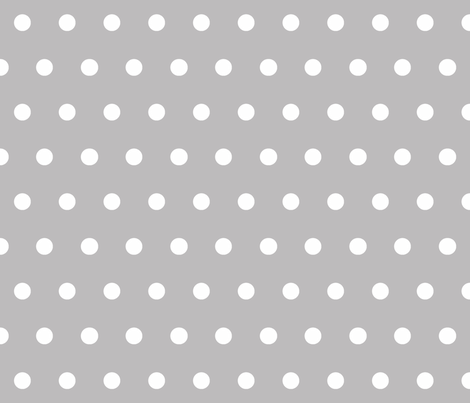 Dot Chinchilla fabric by honey&fitz on Spoonflower - custom fabric