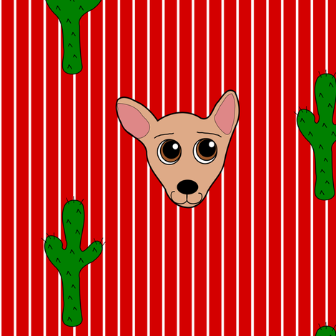 Oh Chiwawa!  fabric by missyq on Spoonflower - custom fabric
