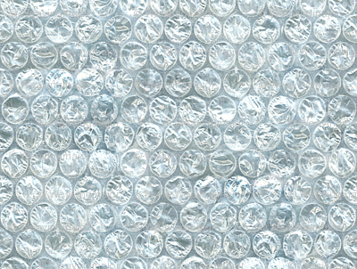 Extra-large bubble wrap!
