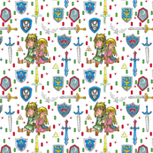 Inspired by Link and Zelda pattern