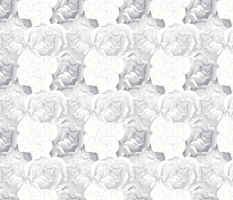 roses_are_white-3x fabric by glimmericks on Spoonflower - custom fabric