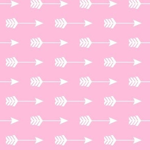 Arrow Sideways on Pink