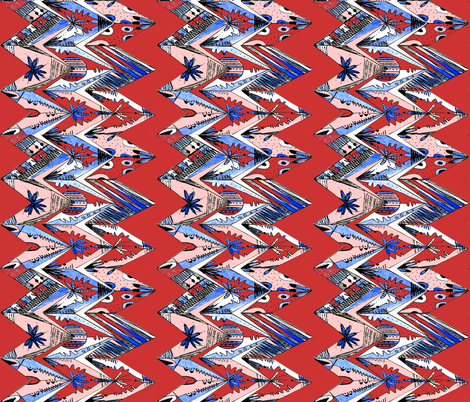 sketch zag 3 fabric by abstracthands on Spoonflower - custom fabric