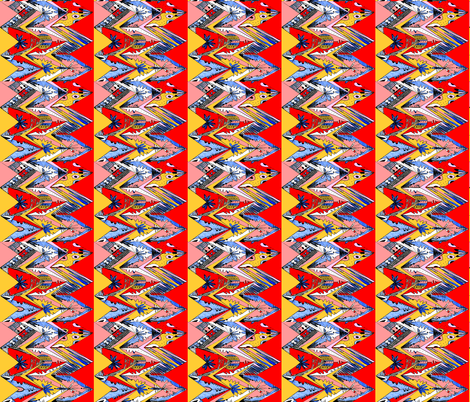 sketch zag 2 fabric by abstracthands on Spoonflower - custom fabric