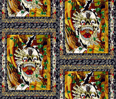 Lord Of The Flies fabric by whimzwhirled on Spoonflower - custom fabric
