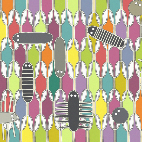 EEK fabric by scrummy on Spoonflower - custom fabric