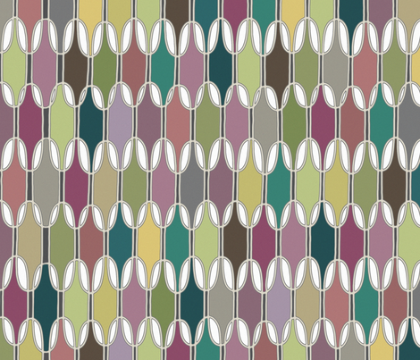 LOZZY muted fabric by scrummy on Spoonflower - custom fabric