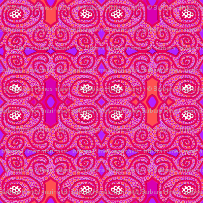 Dot Crowd: Symmetrical with Scrolls