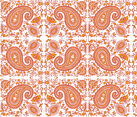 Paisley Dream fabric by flyingfish on Spoonflower - custom fabric
