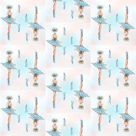 Fashion Robot fabric by kellij on Spoonflower - custom fabric