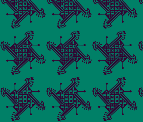 India Tribal fabric by flyingfish on Spoonflower - custom fabric